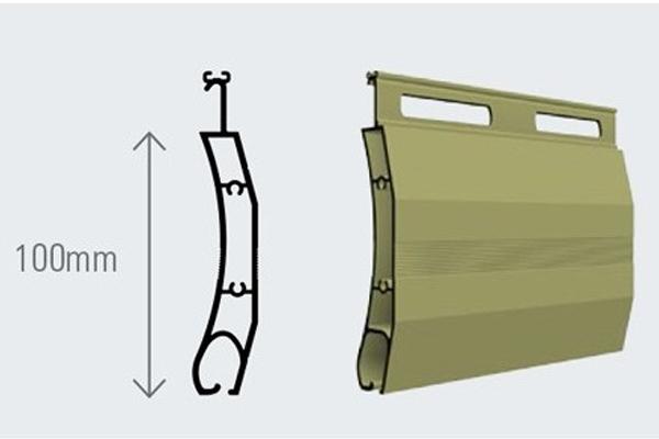 Cửa cuốn Austdoor nan nhôm B100S