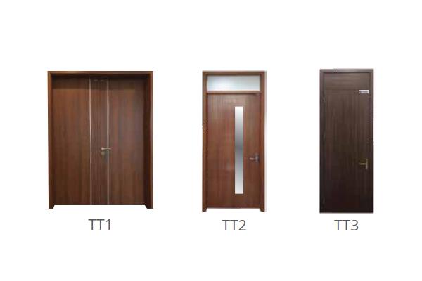 Mẫu cửa kết hợp - Total
