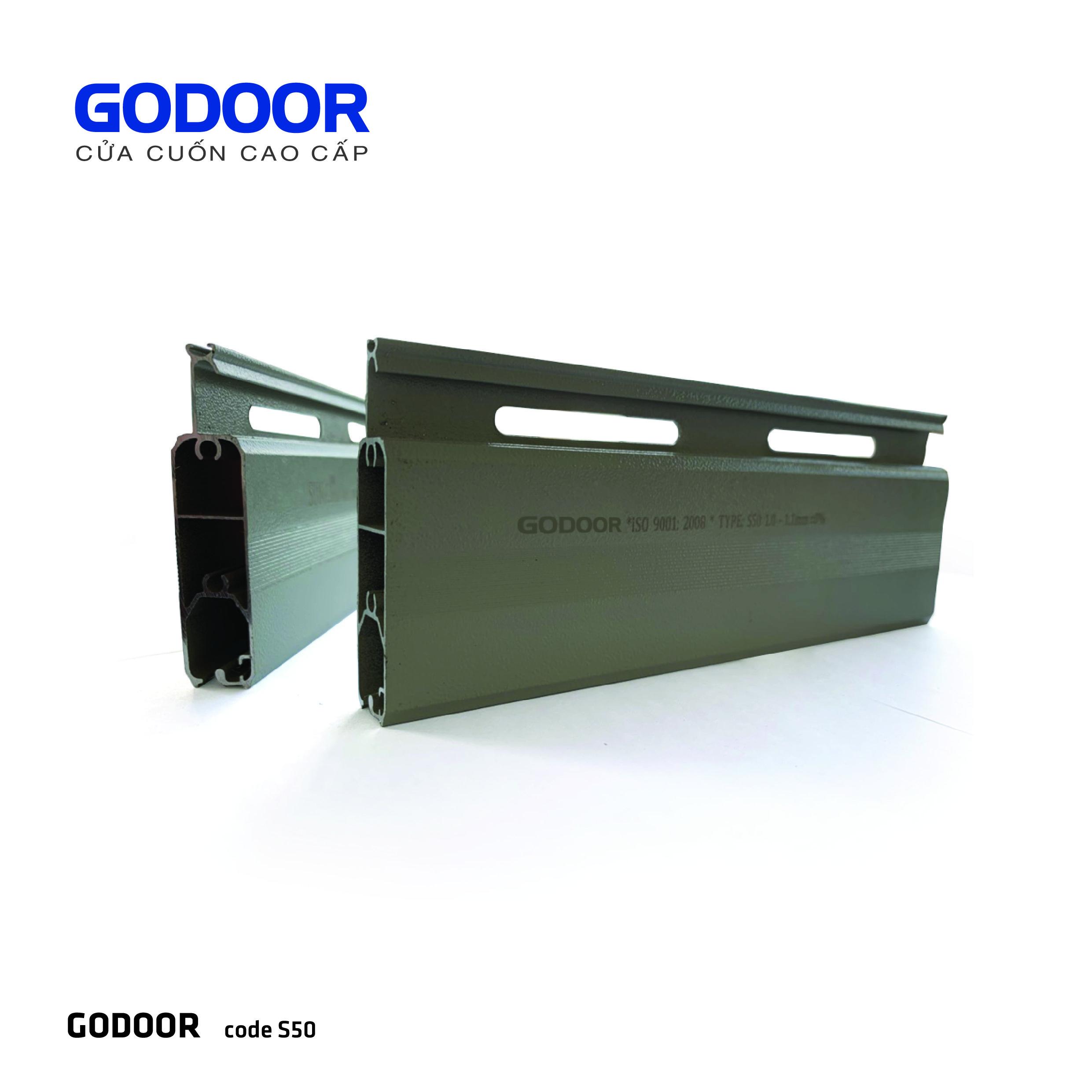 Cửa cuốn Godoor S50